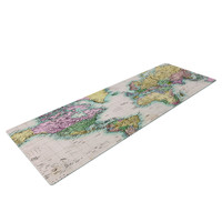 Travel The World Yoga Mat