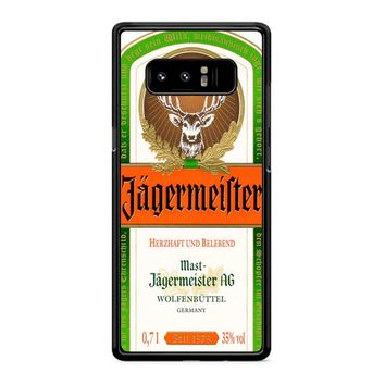 Jagermeister Samsung Galaxy Note 8 Case
