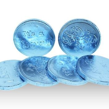 Blue It's A Boy Coins - Novelty, Milk - Fort Knox - Holland - 3 oz