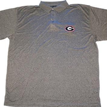 University of Georgia Bulldogs Majestic E-Systems Performance Polo Shirt Size 2XL