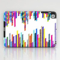 Colorful iPad Case - Crazy Lines F - unique iPad case, geometric iPad case, hipster iPad case, iPad Case, iPad mini case
