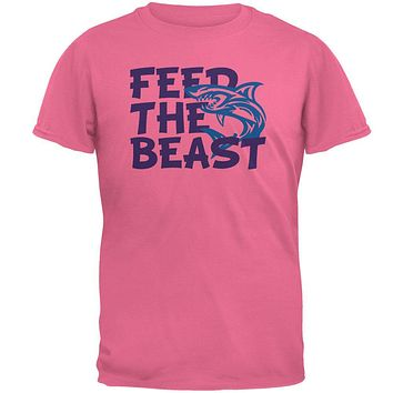 Shark Sharks Feed the Beast Mens T Shirt