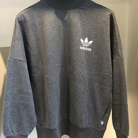 Adidas Originals High Neck Top Sweater Pullover Sweatshirt