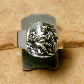 The Seduction - Sterling Silver Ring-247