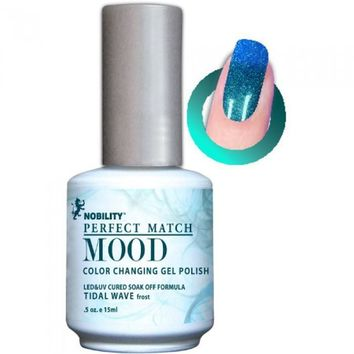 Lechat Perfect Match Mood Gel - Tidal Wave 0.5 oz - #MPMG09