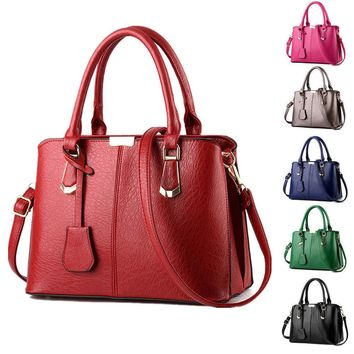 women handbag shoulder bag tote purse leather messenger hobo bag satchel hot 2