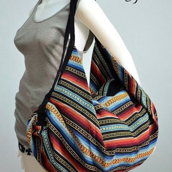 Nepali Hippie Shoulder Bag, Gypsy, Boho, Hobo, Backpack, Tote, Crossbody, Diaper bag, Handbag, Purse NEPSB229