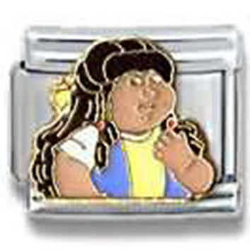 CABBAGE PATCH KIDS Sheena Officially Licensed Italian Charm