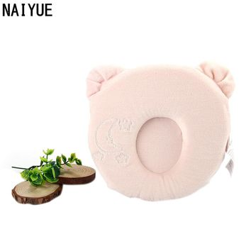 Cute Pillow NAI YUE 2017 New Arrive Soft Velvet Solid Pink Pround Memory Pillow Memory Foam Grade A Cute Stereotypes Pillow