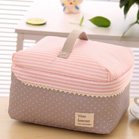 Portable Travel Handbag - Makeup Toiletry