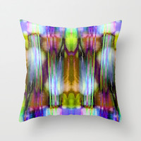 Pick-up Sticks  no41 Throw Pillow by Gréta Thórsdóttir