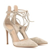 Antonia suede pumps