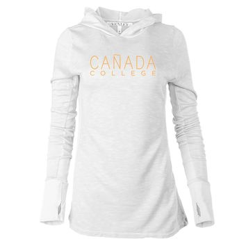 NCAA Canada College Colts 65A-CC Women's Long Sleeve Thumbhole Hoodie