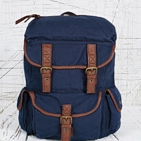 Around the World Backpack in Navy - Urban Outfitters