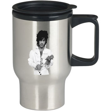 Prince Rogers Nelson For Stainless Travel Mug *
