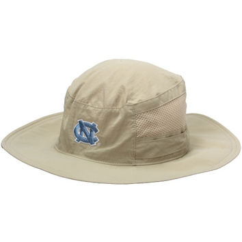 North Carolina Tar Heels :UNC: Columbia Bora Bora Booney II Bucket Hat – Natural