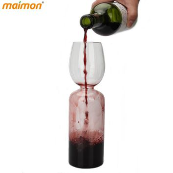 Creative Wine Direct Drinking Bottle Wine Glass Bottle Decanter Red Wine Aerator Pourer Beer Mug Kitchen Bar Tools