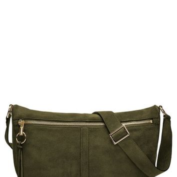 Elizabeth and James 'Scott Moon' Suede Crossbody Bag | Nordstrom