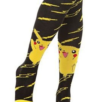 Pokemon Pikachu Knee-High Toe Socks - 171668