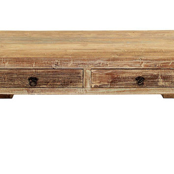 """Montauk 40"""" Coffee Table, Driftwood, Cocktail Table, Coffee Table Base"""