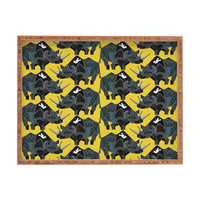Sharon Turner Rhinoceros Rectangular Tray