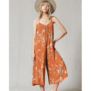 Sunset Floral Jumpsuit
