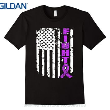 GILDAN Fashion Print Tshirt Plus Size Fight Against Lupus T Shirt - Lupus Awareness