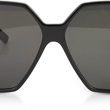Saint Laurent SL 232 Betty Oversize Acetate Women's Sunglasses