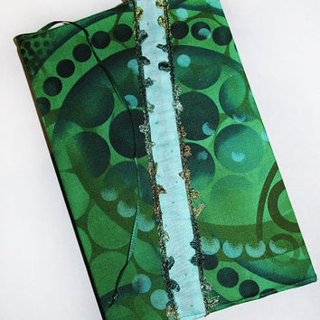 Green Dots Journal Cover
