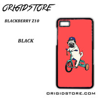 Pug Bicycle For Blackberry Z10 Case UY