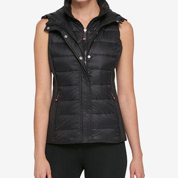 Tommy Hilfiger Sport Hooded Puffer Vest, Created for Macy's | macys.com