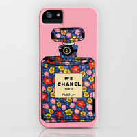Vintage Floral Bottle 2 iPhone Case by Dinorah Hatta | Society6