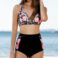 Swimsuit Summer New Arrival Sexy Hot Beach Swimwear High Waist Bikini [9703277258]