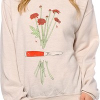 Obey x Meghann Stephenson Pocket Knife Crew Neck Sweatshirt