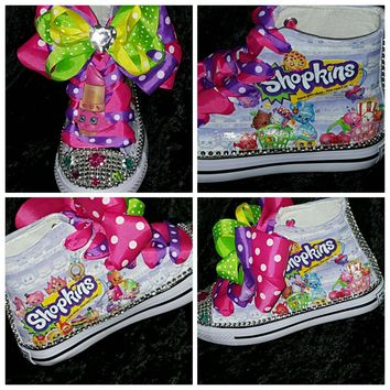 Limited Edition custom Shopkins Kids Birthday inspired shoe