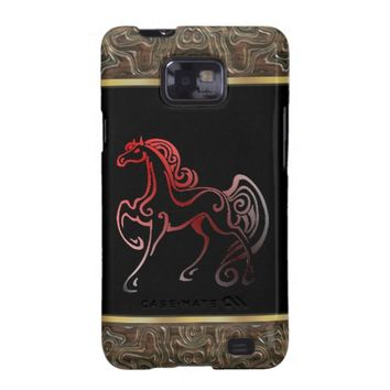 Horse Tails Samsung Galaxy S2 Case