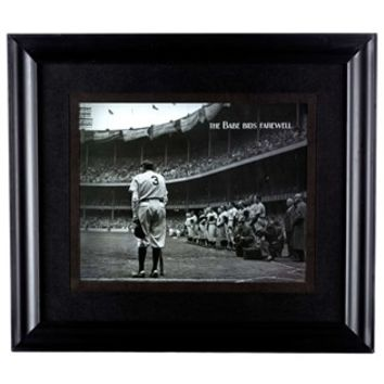 The Babe Bids Farewell Framed Wall Art | Shop Hobby Lobby