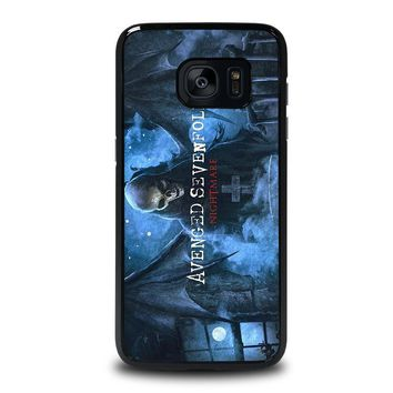 avenged sevenfold samsung galaxy s7 edge case cover  number 1