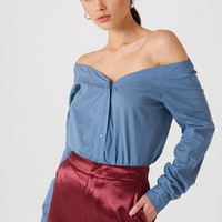 Slip Shoulder Shirt