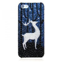 Original Deer Elf Bling Bling Crystal Case for iPhone 5