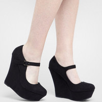Platform Mary Jane Shoes