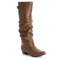 Women's Slouch Wide-Calf Boots