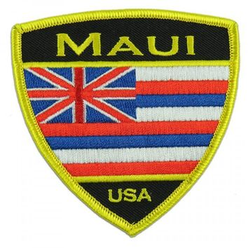 Hawaiian Flag Maui Patch