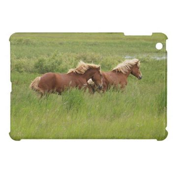Running Palominos Horse-lovers Case iPad Mini Cover from Zazzle.com