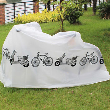 Hot Sale Waterproof Outdoor Scooter Bike Motorcycle Rain Dust Cover Bicycle Protect Gear Cycling Bicycle Accessories EA14