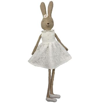 70 cm Cute rabbit plush doll soft plush doll rabbit baby dress rabbit toy girls gift