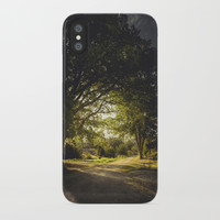 On the road again iPhone Case by HappyMelvin