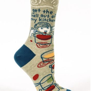 Get the hell out of my kitchen socks