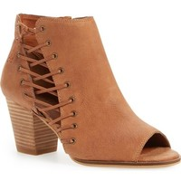 Lucky Brand 'Hartlee' Open Toe Bootie (Women) | Nordstrom