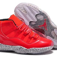 Cheap Air Jordan 11(XI) 3Lab5 Men Shoes Red White